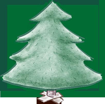 Custom Christmas Tree Factory messages sticker-0