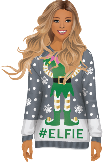 Stardoll Christmas Stickers messages sticker-0