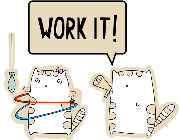 Purrr it! messages sticker-4