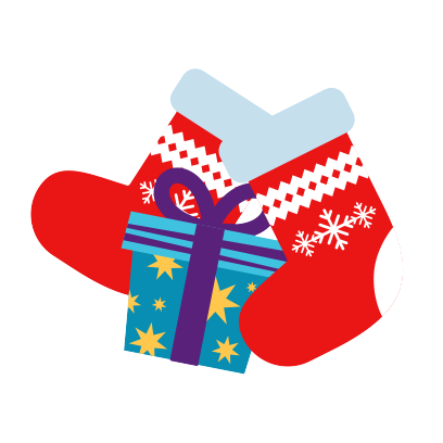 Moji Christmas Animated Stickers messages sticker-9