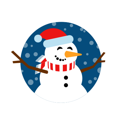 Moji Christmas Animated Stickers messages sticker-0