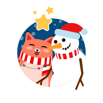 Moji Christmas Animated Stickers messages sticker-2