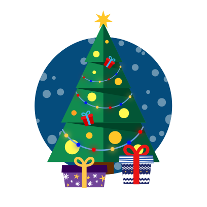 Moji Christmas Animated Stickers messages sticker-5
