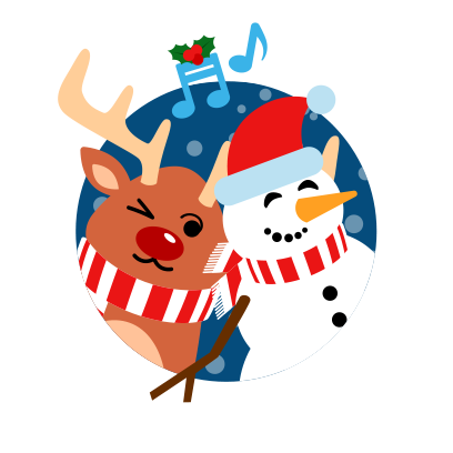 Moji Christmas Animated Stickers messages sticker-4