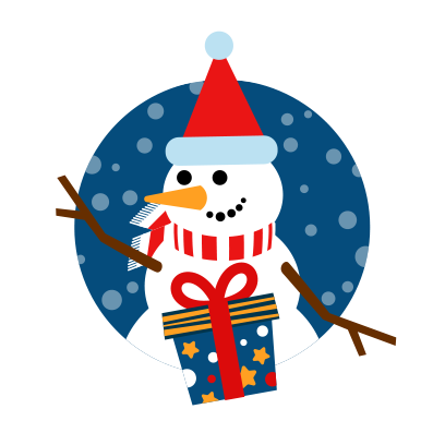Moji Christmas Animated Stickers messages sticker-1