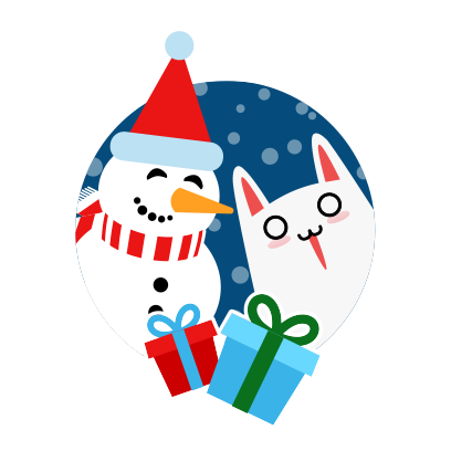 Moji Christmas Animated Stickers messages sticker-3