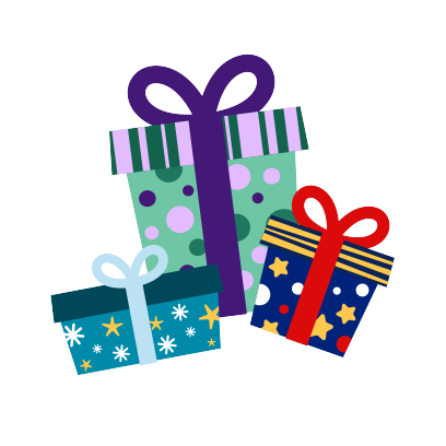 Moji Christmas Animated Stickers messages sticker-7