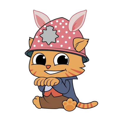 Cheshire Jr. Animated Stickers Pack messages sticker-3