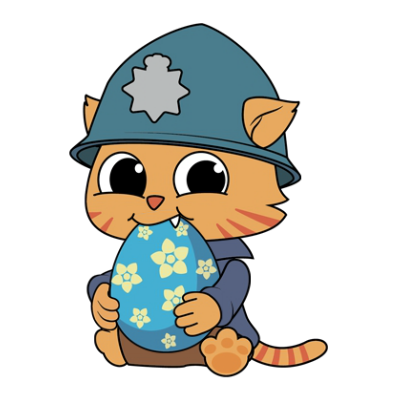 Cheshire Jr. Animated Stickers Pack messages sticker-5