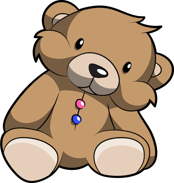 Cute Teddy Bear Stickers For iMessage messages sticker-6
