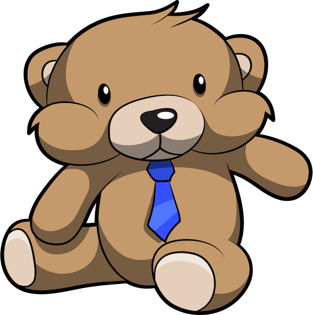 Cute Teddy Bear Stickers For iMessage messages sticker-7