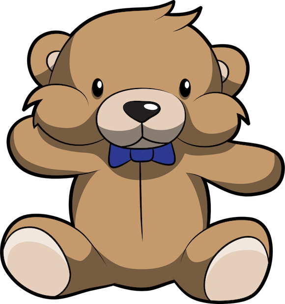 Cute Teddy Bear Stickers For iMessage messages sticker-8