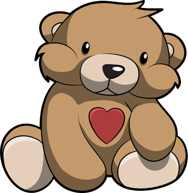 Cute Teddy Bear Stickers For iMessage messages sticker-1