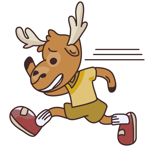 Moose in Shoes messages sticker-2