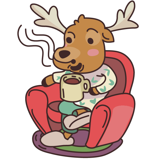 Moose in Shoes messages sticker-8