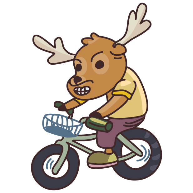 Moose in Shoes messages sticker-10
