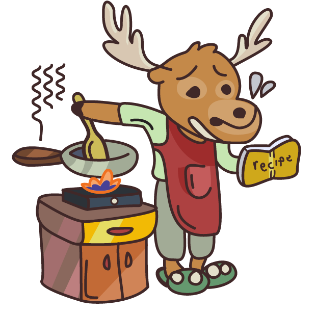 Moose in Shoes messages sticker-6