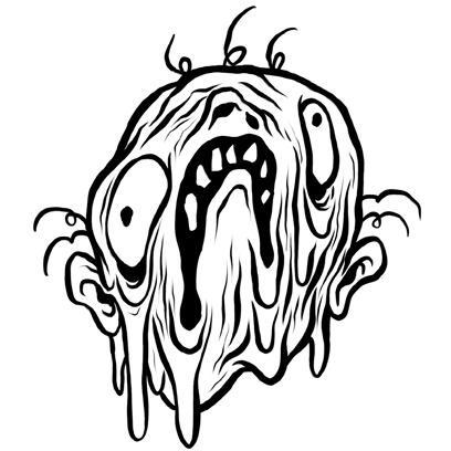 Mr. Bleak by Alex Pardee messages sticker-2