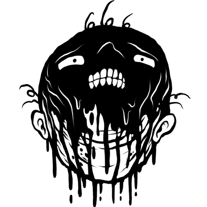 Mr. Bleak by Alex Pardee messages sticker-6