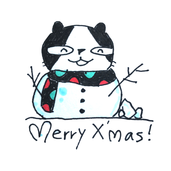 Doodle Funny Stickers Xmas messages sticker-6