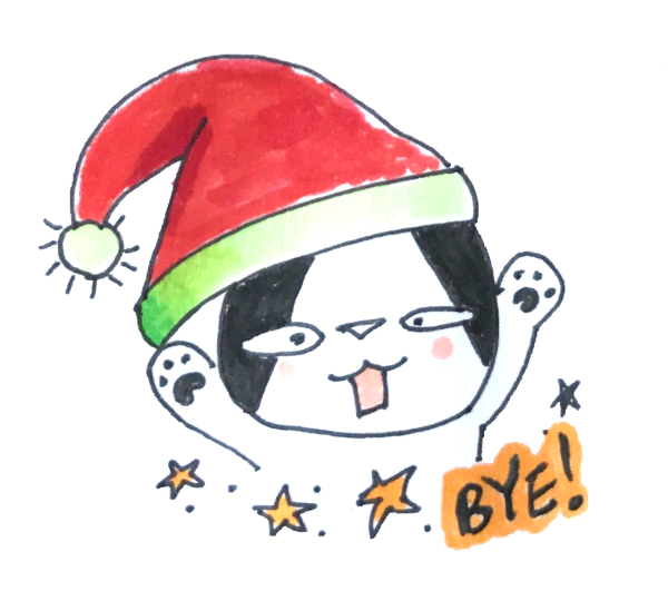 Doodle Funny Stickers Xmas messages sticker-7