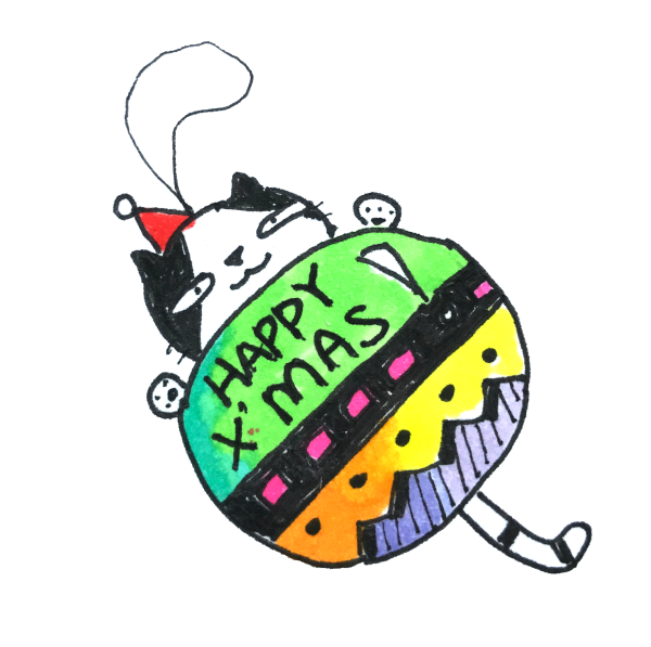 Doodle Funny Stickers Xmas messages sticker-3