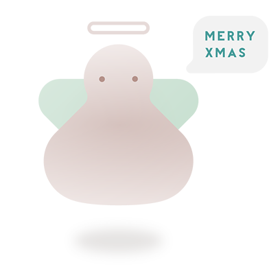 Minimal Christmas Stickers - Stickers For iMessage messages sticker-0