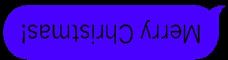 Upside Down Text Bubbles messages sticker-9