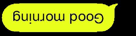 Upside Down Text Bubbles messages sticker-2