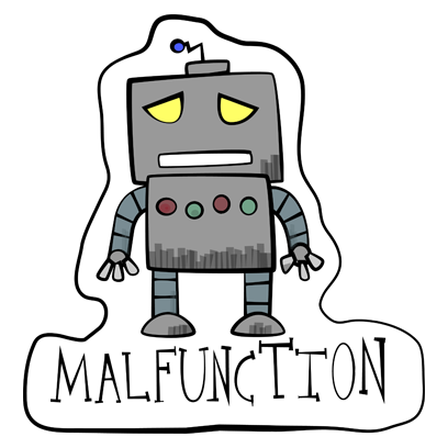 Vintage Robot messages sticker-5