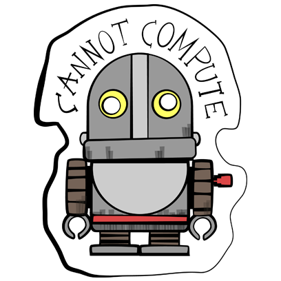 Vintage Robot messages sticker-7