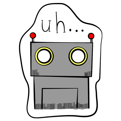 Vintage Robot messages sticker-6