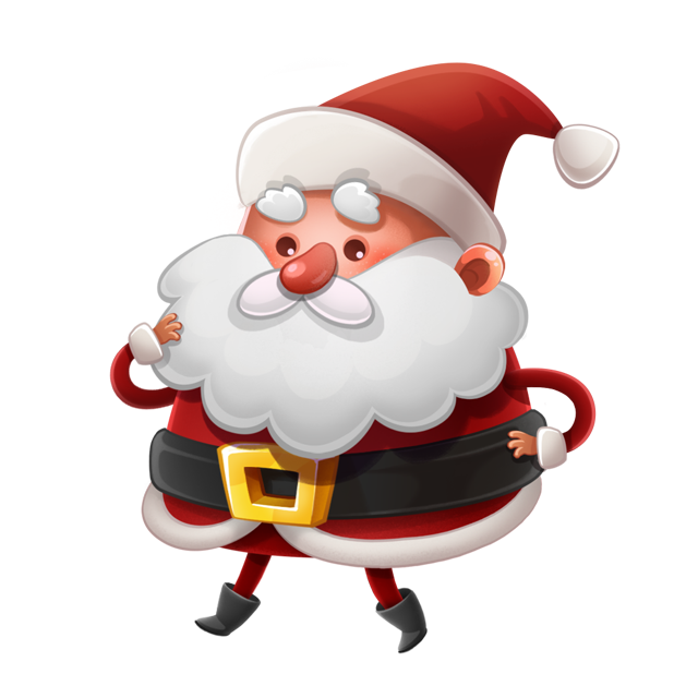 Kind Santa Claus – Christmas stickers for iMessage messages sticker-8
