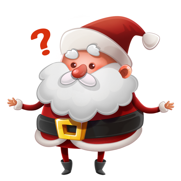 Kind Santa Claus – Christmas stickers for iMessage messages sticker-1