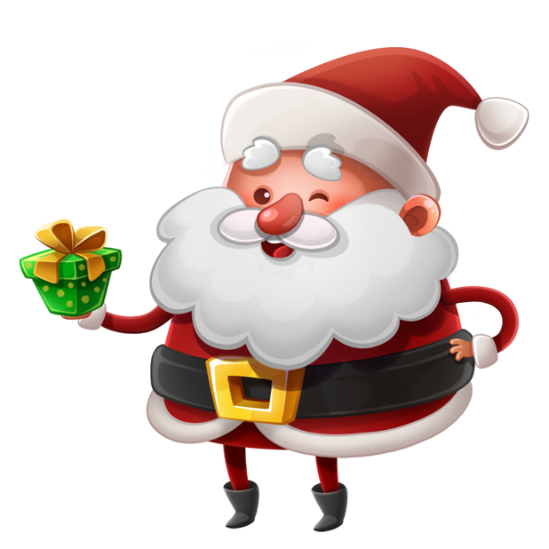 Kind Santa Claus – Christmas stickers for iMessage messages sticker-7