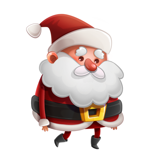Kind Santa Claus – Christmas stickers for iMessage messages sticker-4