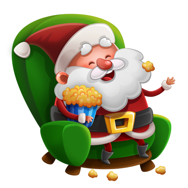 Kind Santa Claus – Christmas stickers for iMessage messages sticker-9