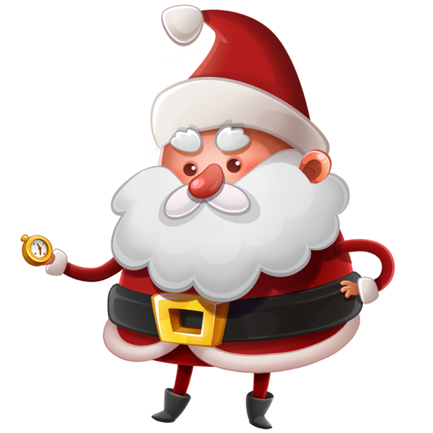Kind Santa Claus – Christmas stickers for iMessage messages sticker-11