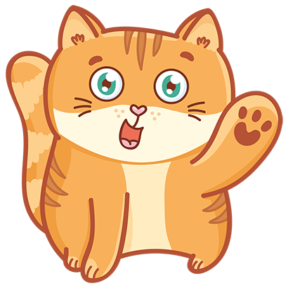 Hosico cat! Cute stickers for iMessage messages sticker-0