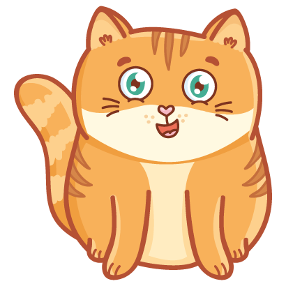 Hosico cat! Cute stickers for iMessage messages sticker-5
