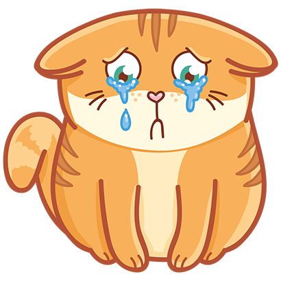 Hosico cat! Cute stickers for iMessage messages sticker-9