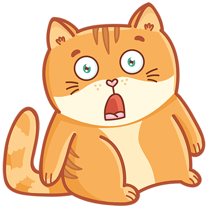 Hosico cat! Cute stickers for iMessage messages sticker-10