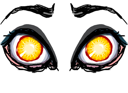 Sketchy Eyes add Expression to Texts Faces and Pix messages sticker-4