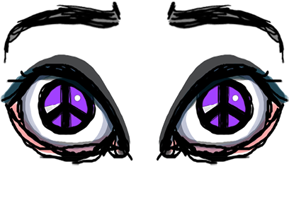 Sketchy Eyes add Expression to Texts Faces and Pix messages sticker-8