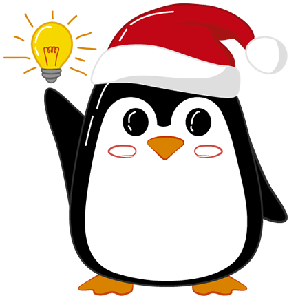 Christmas Penguins 2018 messages sticker-8