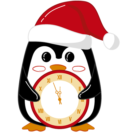 Christmas Penguins 2018 messages sticker-7