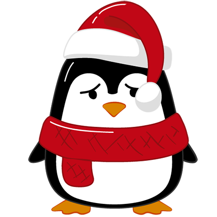 Christmas Penguins 2018 messages sticker-11