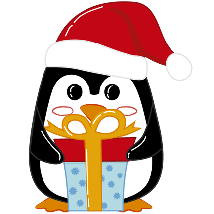 Christmas Penguins 2018 messages sticker-2