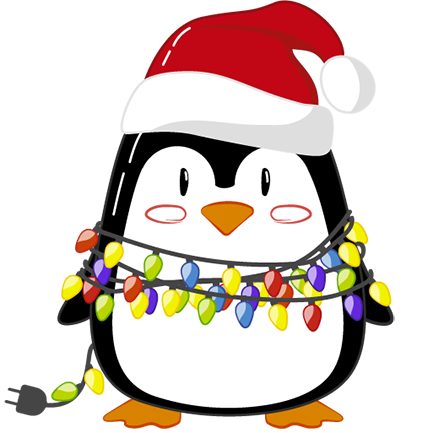 Christmas Penguins 2018 messages sticker-0