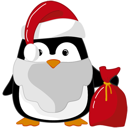 Christmas Penguins 2018 messages sticker-3